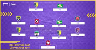 Đội hình tuổi Tuất của V.League 2018