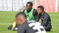 Meshack Maphangule & Augustine Mahlonoko, Orlando Pirates, September 2018