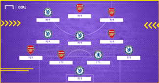Chelsea Arsenal Europa League Combined XI