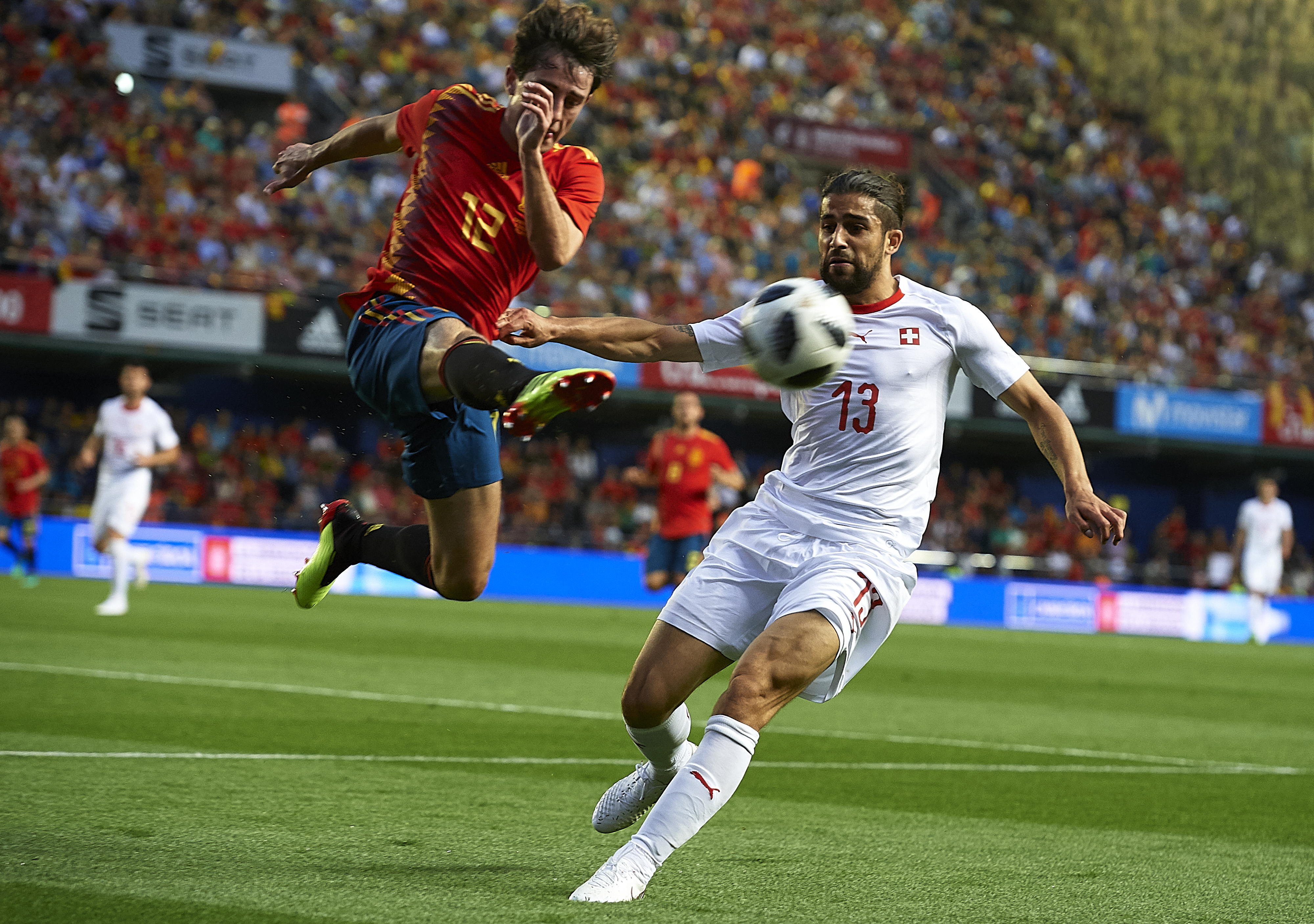 Odriozola Spain Switzerland goal
