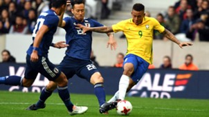 Gabriel Jesus I Brasil Japão I 10 11 18