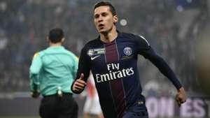 Julian Draxler PSG Monaco Coupe de la Ligue 01042017