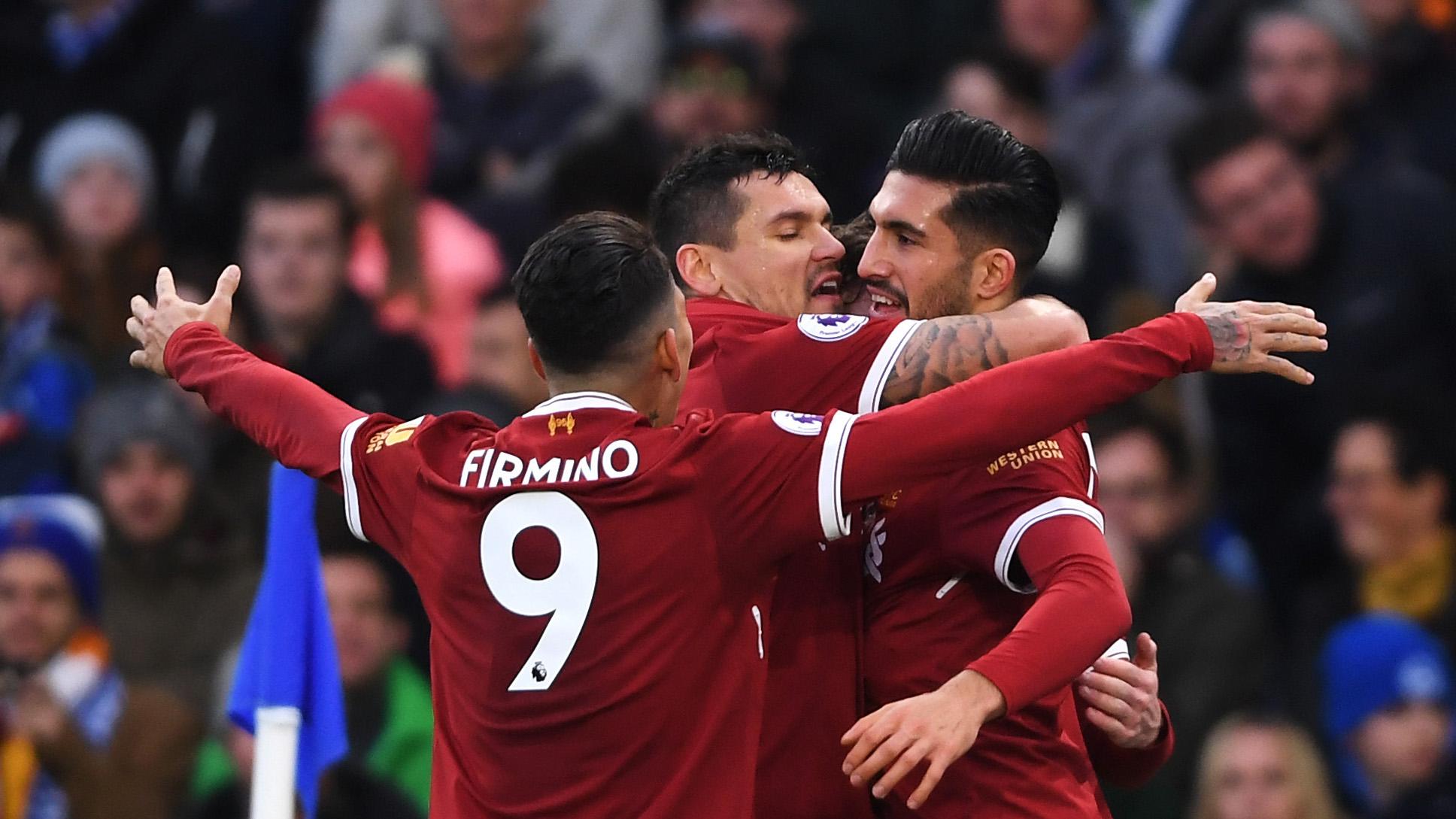 Roberto Firmino Liverpool Brighton