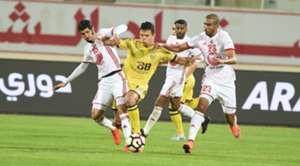 Sharjah vs Al Wasl AGL 18 2016-17