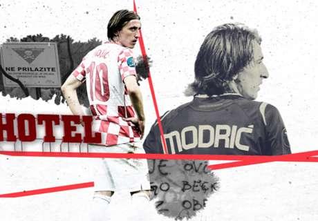 Luka Modric: Mültecilikten dünyanın en iyi futbolculuğuna