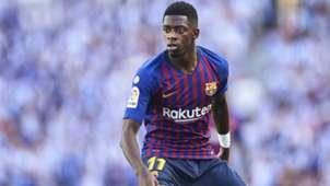 Ousmane Dembele FC Barcelona 2018
