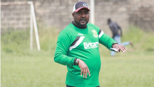 Coach Francis Kimanzi of Mathare United.