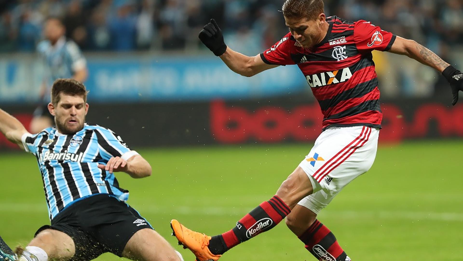 Cuellar Kannemann Gremio Flamengo Copa do Brasil 01082018