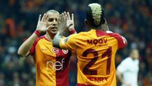 Sofiane Feghouli Henry Onyekuru Galatasaray