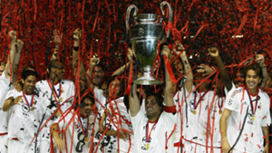Milan 2003 Champions League trophy