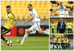 Wellington Phoenix v Melbourne Victory A-League 17012017