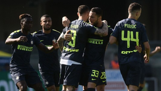 Inter celebrates Icardi vs. Chievo