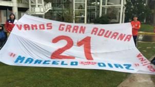Bandera para Marcelo Díaz 04072017