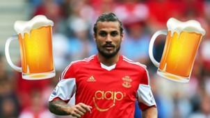 Pablo Osvaldo beer