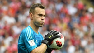 Igor Akinfeev Russia Spain World Cup 2018 010718