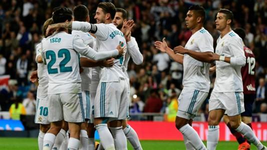 Real Madrid Eibar LaLiga
