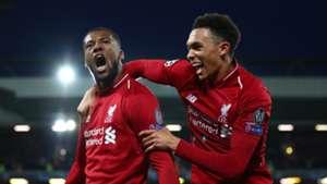 Georginio Wijnaldum Trent Alexander-Arnold Liverpool Barcelona Champions League