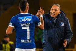 Ayron del Valle & Miguel Russo Millonarios Deportivo Lara - Copa Libertadores 17042018