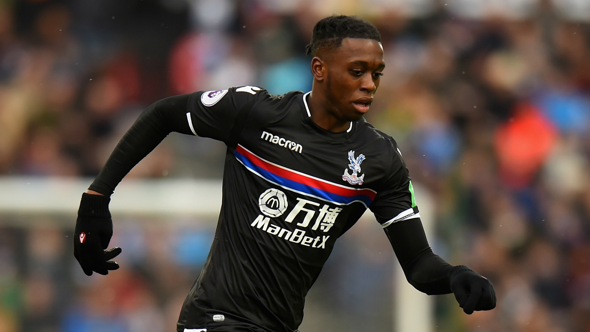 Aaron Wan-Bissaka Crystal Palace Premier League Team of the Week