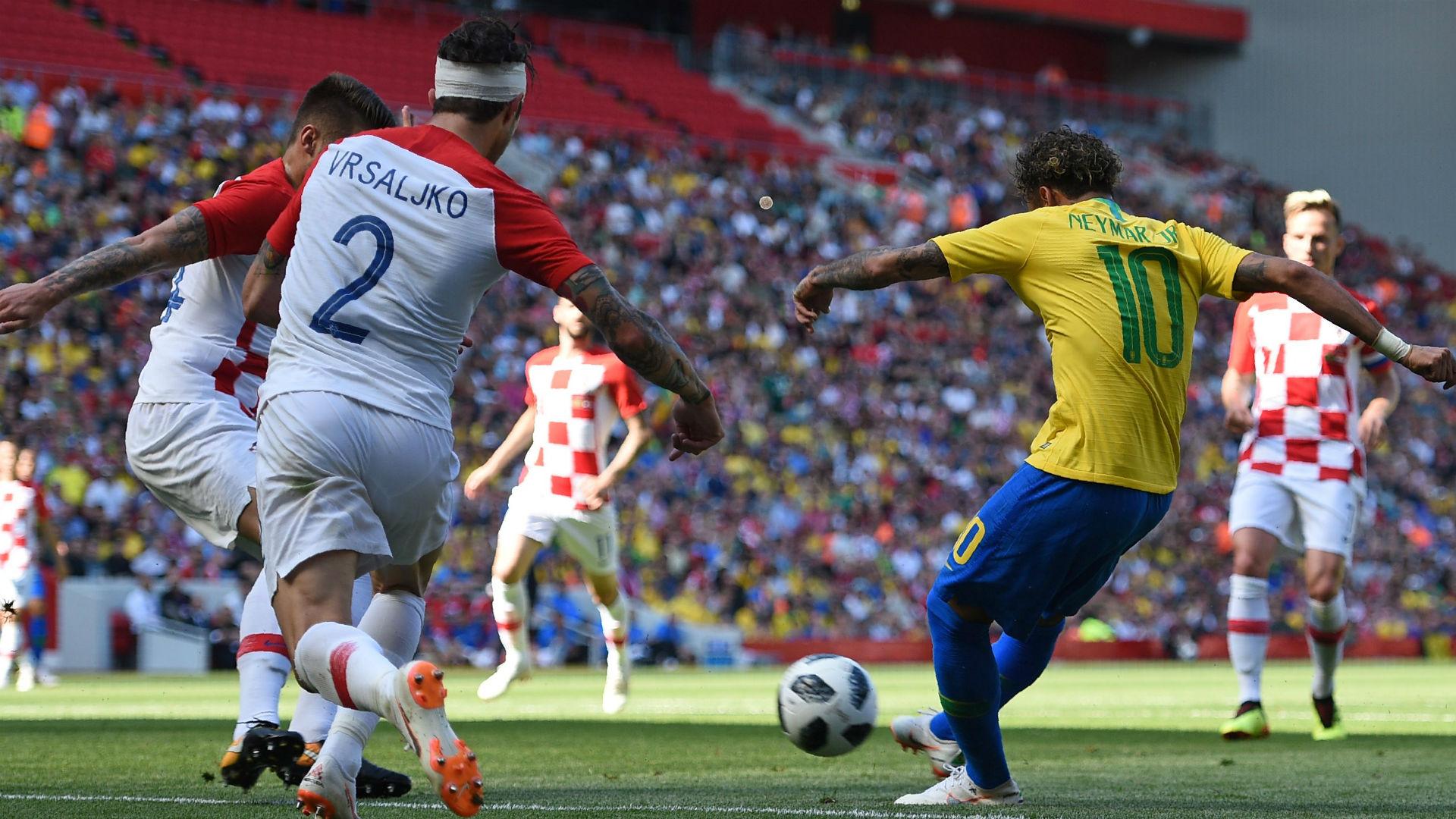 Neymar Brazil Croatia.