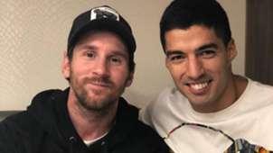 Lionel Messi Luis Suarez 28102018