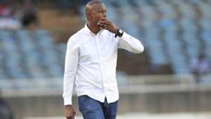 AFC Leopards coach Casa Mbungo in the derby.