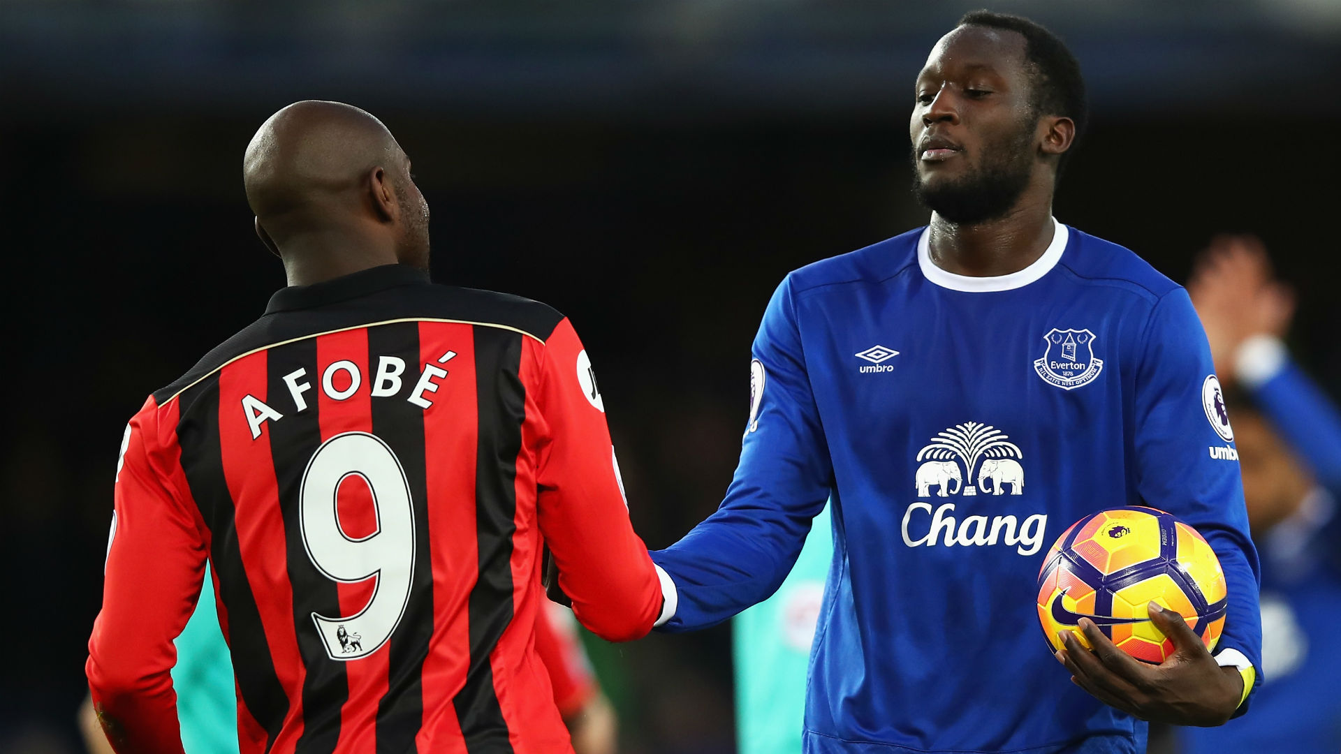 Lukaku Everton Bournemouth