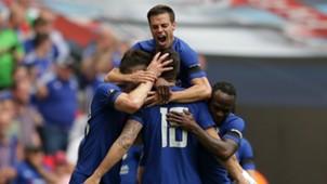 Chelsea celebrate FA Cup