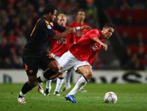 Cristiano Ronaldo Manchester United Roma 2007 2008