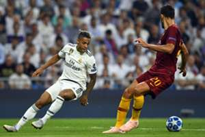 Mariano Diaz Real Madrid AS Roma Champions League 19092018