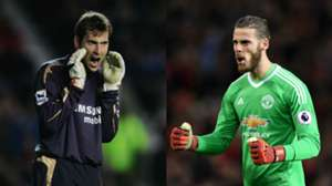 collage Cech De Gea