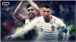 Lalu Muhammad Zohri & Cristiano Ronaldo