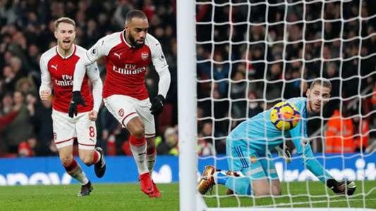 Alexandre Lacazette Aaron Ramsey Arsenal