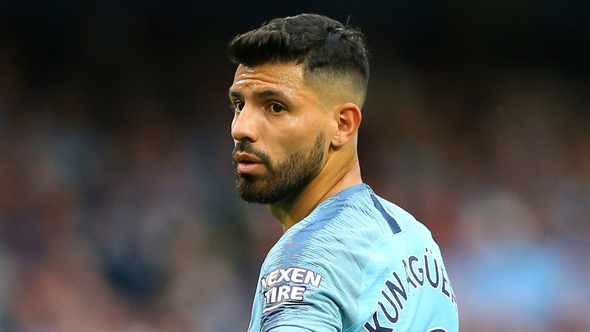 aguero being nursed through niggling foot problem by man city