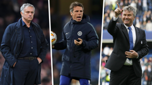 Chelsea managers replacement Mourinho Hiddink Zola