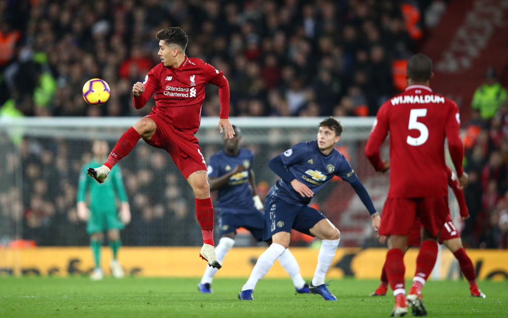 Roberto Firmino Liverpool Manchester United EPL 161218