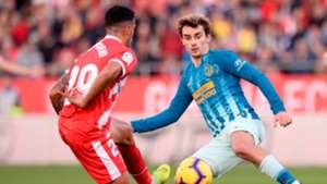 Antoine Griezmann Pedro Porro Girona Atletico de Madrid LaLiga 02122018