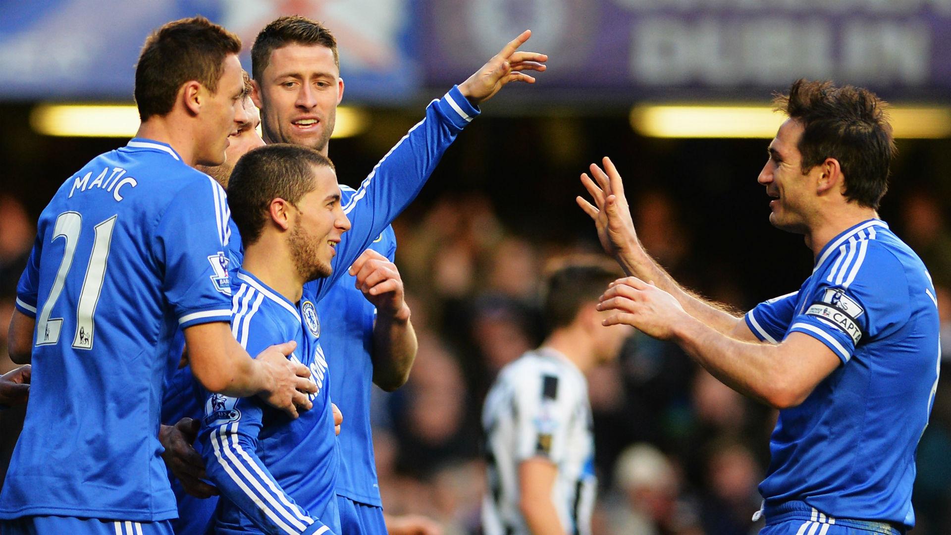 Frank Lampard Eden Hazard Chelsea