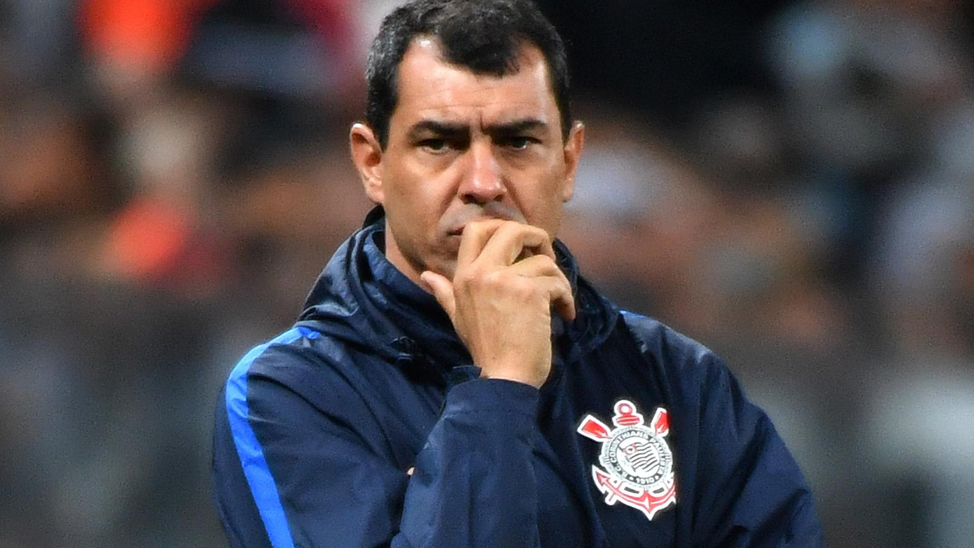 Fabio Carille Corinthians Patriotas Boyaca Copa Sudamericana 26072017