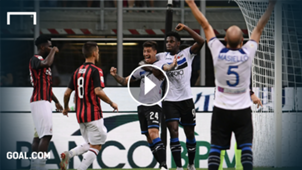 milan atalanta highlights serie a