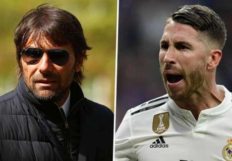 Conte finoman visszaszólt Sergio Ramosnak
