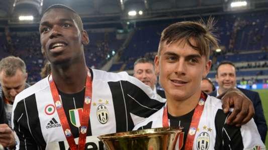Paul Pogba Paulo Dybala Juventus