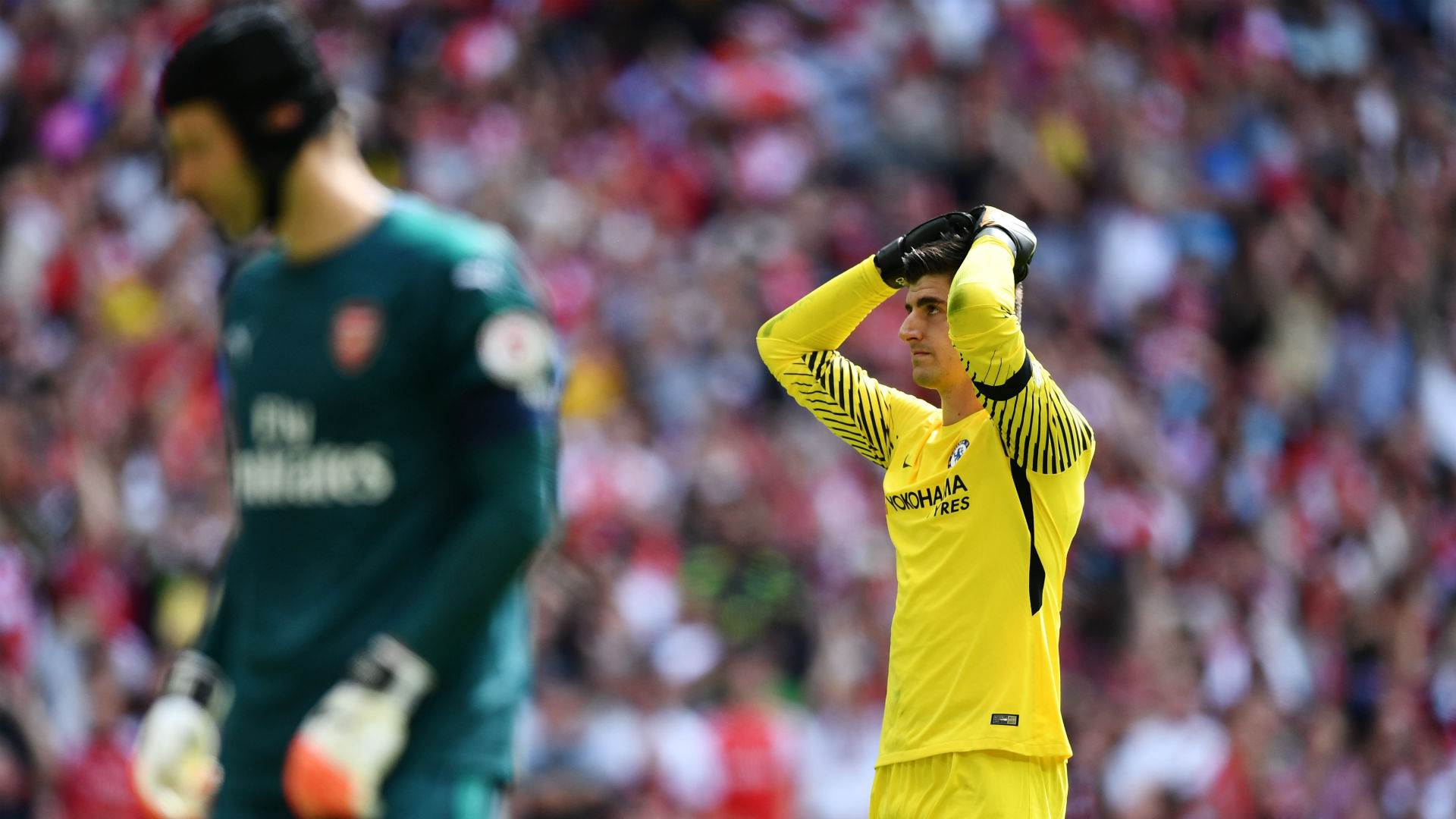 Thibaut Courtois Chelsea Arsenal Community Shield