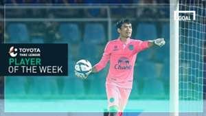 Toyota Thai League Player of the Week 24 : ศิวรักษ์ เทศสูงเนิน