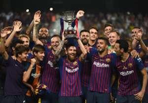 Barcelona won Spanish Super Cup 2018