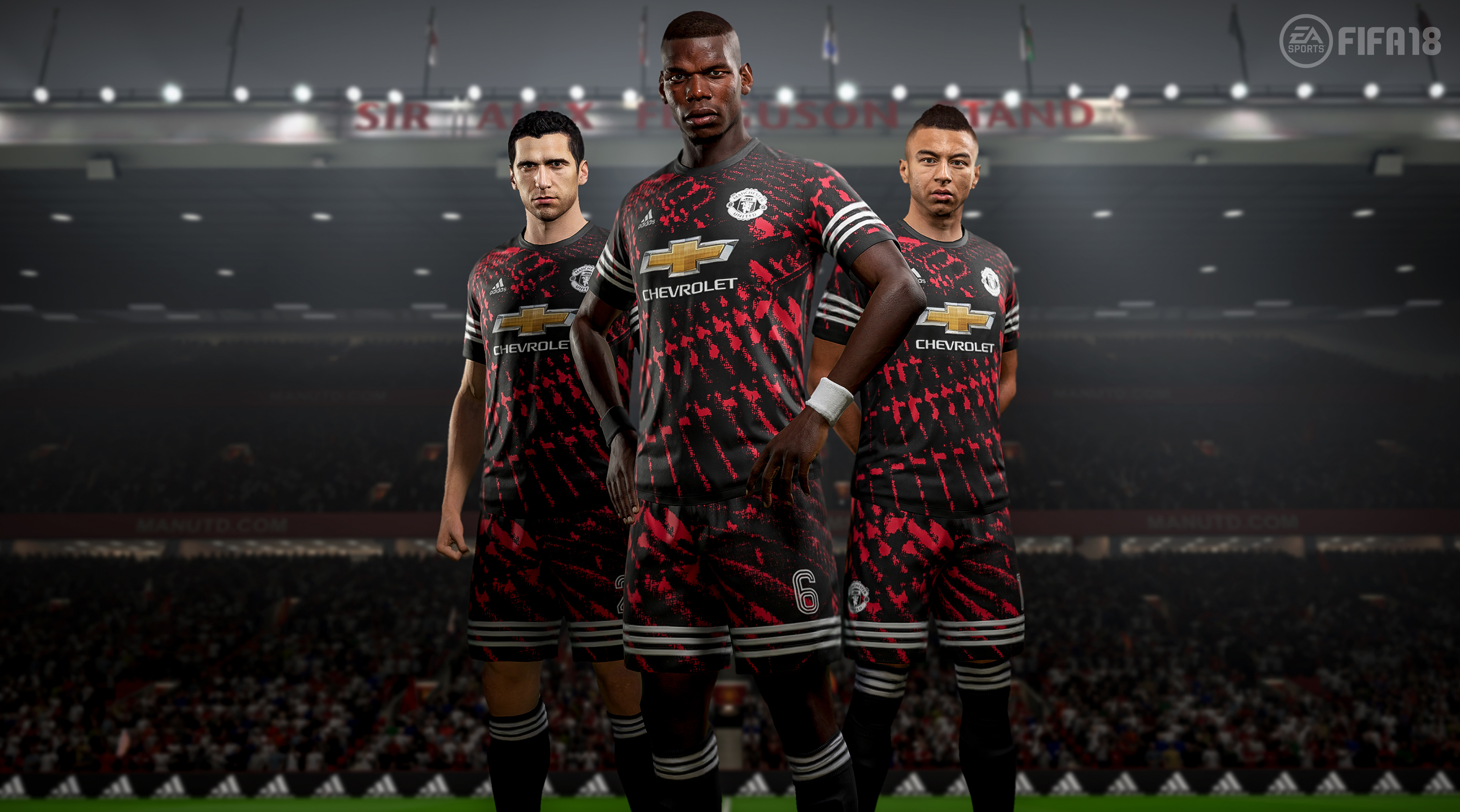 FIFA 18 Ultimate Team announces digital fourth kits for Real Madrid ... 1058867e2