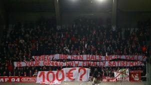 Fans during Anderlecht Bayern Munchen
