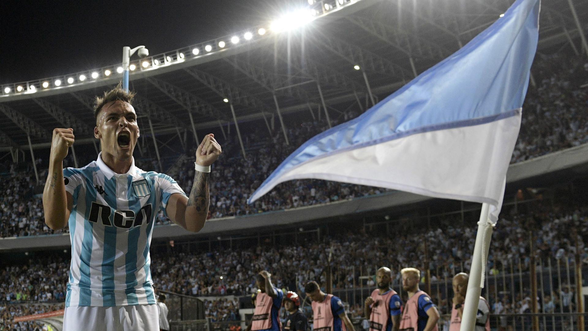 Lautaro Martinez Racing Club Cruzeiro Copa Libertadores 28022018