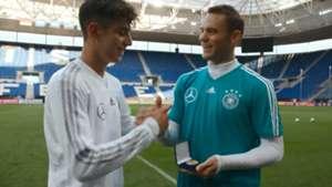 Kai Havertz Manuel Neuer DFB