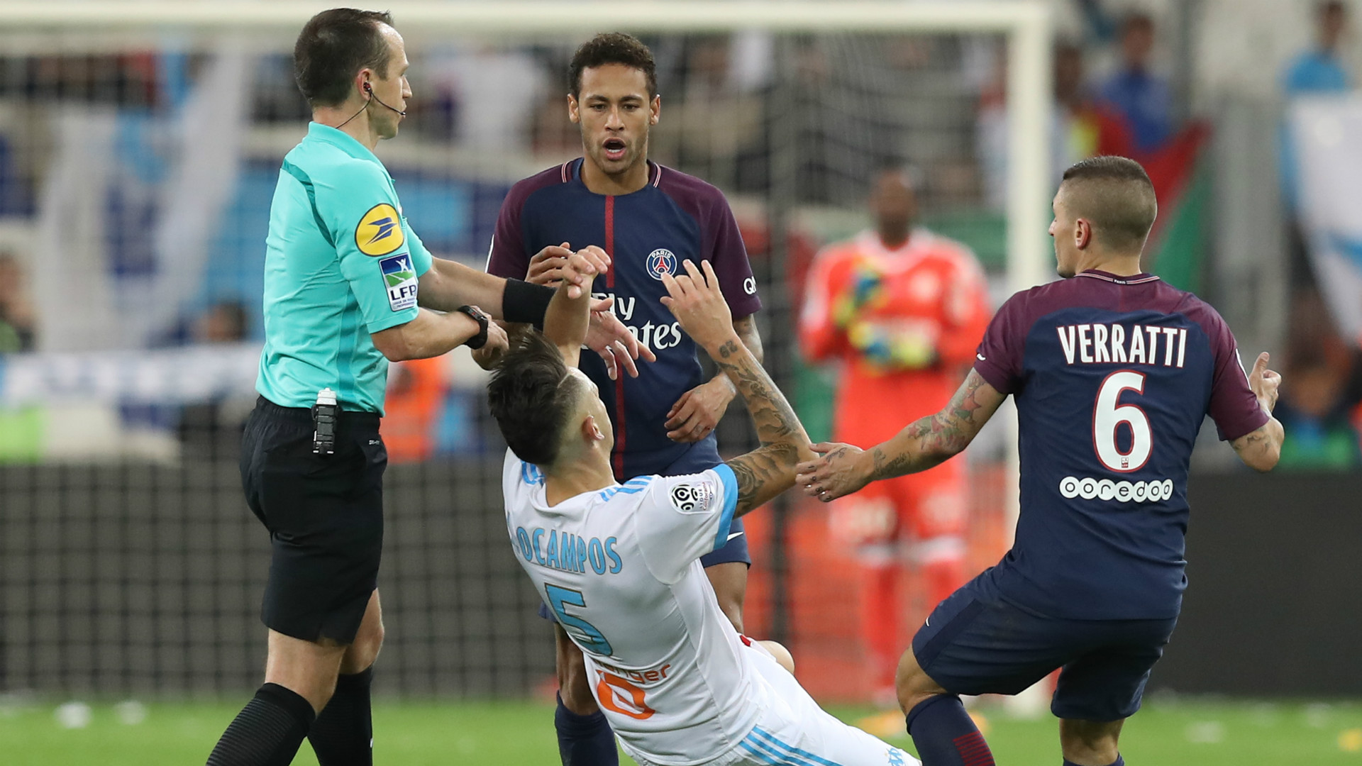 Neymar red card Why the PSG star was sent off and the ban he